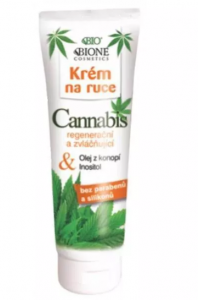 Konopny odżywczy krem do rąk BIONE COSMETICS CANNABIS 100ml